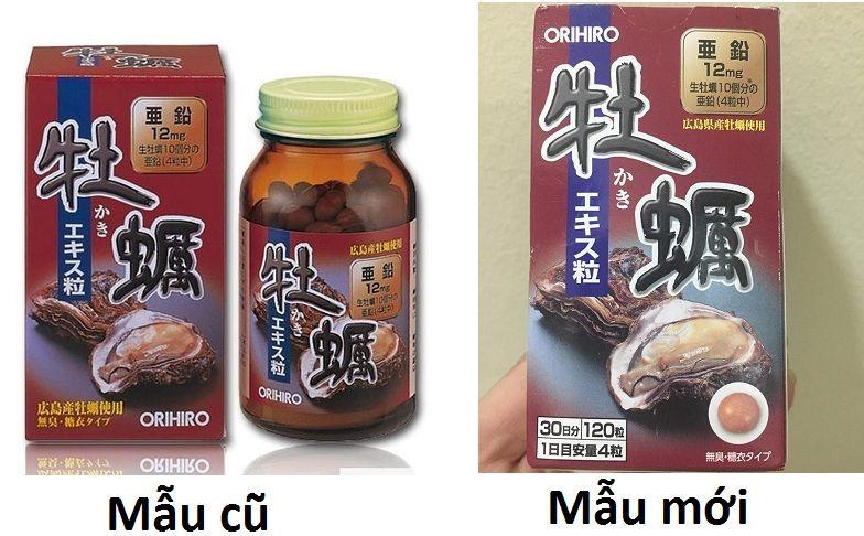 Tinh chất hàu tươi Nhật Bản Orihiro tăng cường sinh lý nam 1