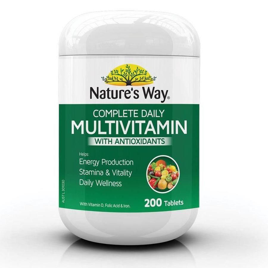 Vitamin Tổng Hợp Nature's Way Complete Daily Multivitamin 200 Viên 1