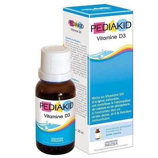 Vitamin D3 Pediakid Dạng Nước Của Pháp 20ml 1