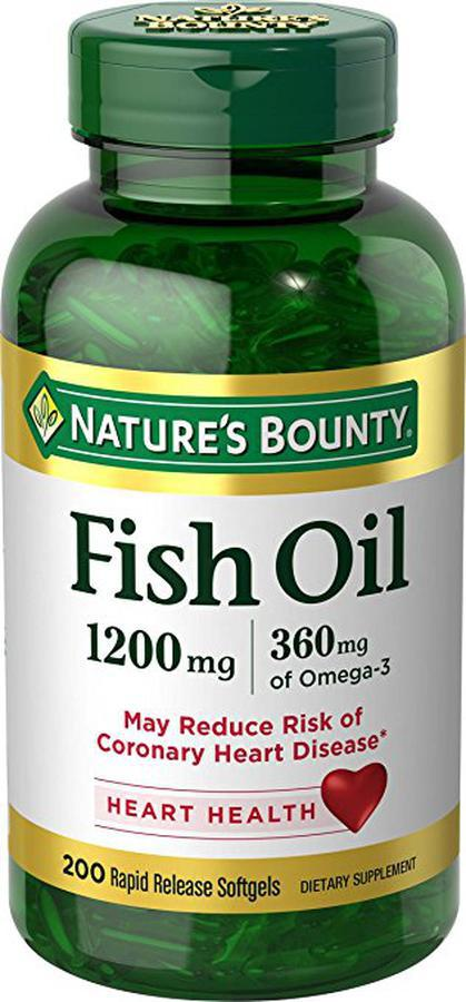 Dầu Cá Omega 3 Nature's Bounty Fish Oil 1200mg 1