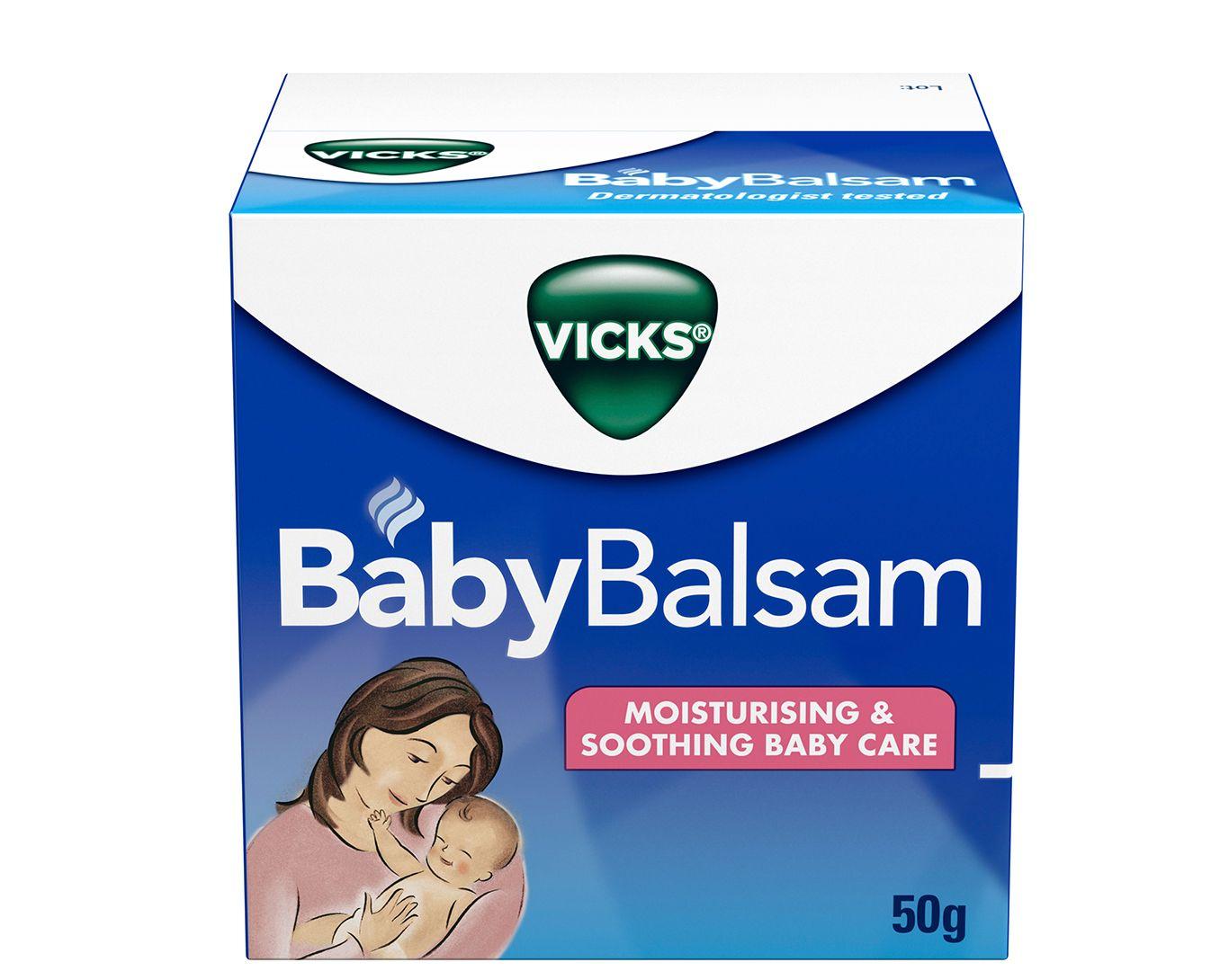 Dầu cho bé Vicks Baby Balsam 50g của Úc 1