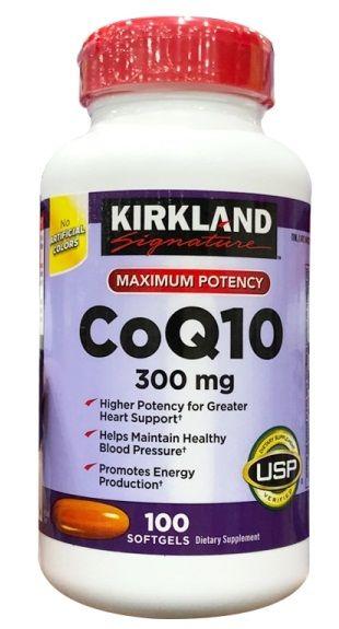 Sản phẩm bổ trợ tim mạch Kirkland CoQ10 300mg lọ 100 viên (Mỹ) 2