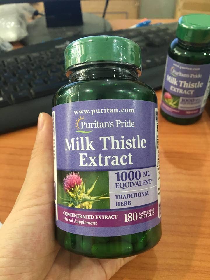 Milk Thistle Extract Hãng Puritan Pride 1000 Mg 1