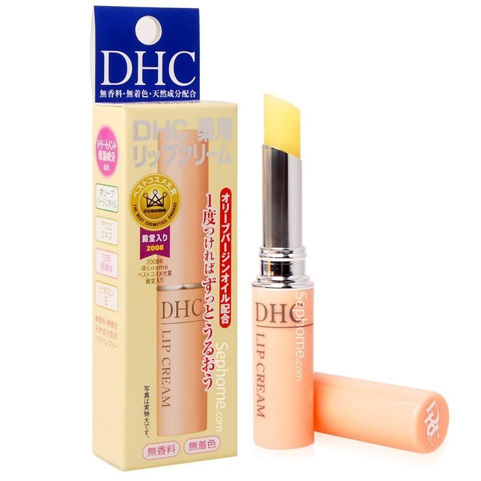 Son dưỡng DHC dưỡng ẩm, hỗ trợ cải thiện thâm môi 1