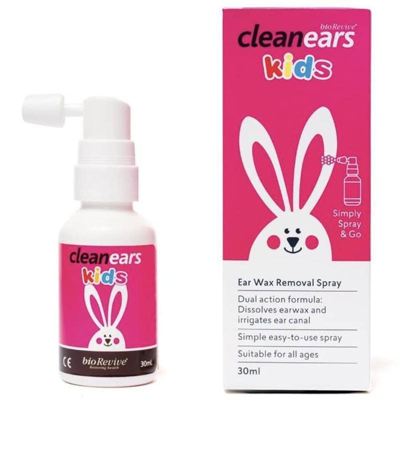 Xịt Ráy Tai Clean Ears Kids 30ml Chính Hãng Của Úc 1