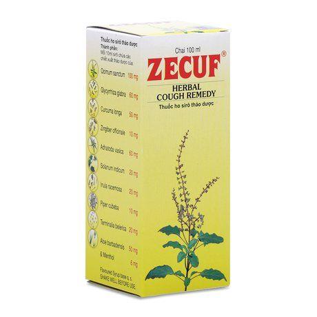 Siro chuyên trị ho thảo dược Zecuf (100ml)- Xuất xứ Ấn Độ 1