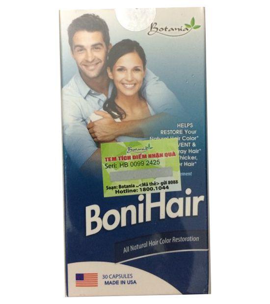 BoniHair - Viên uống hỗ trợ mọc tóc, cải thiện bạc tóc, chính hãng Mỹ