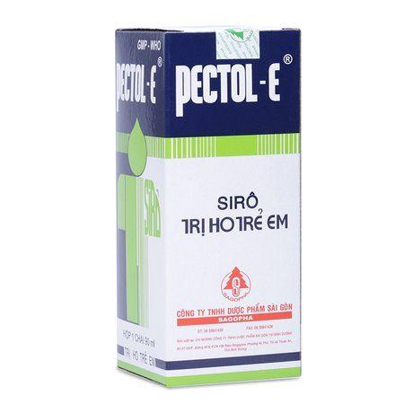 Siro thảo dược trị ho cho trẻ em Pectol- e (90ml) 1