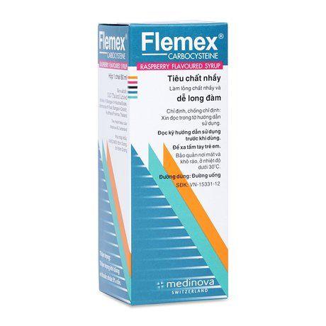 Siro điều trị rối loạn hô hấp Flemex(60ML) từ Thụy Sĩ 1