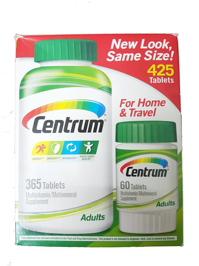 Centrum Adults Vitamin Tổng Hợp Cho Người Dưới 50 Tuổi 1