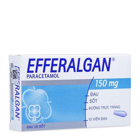 Thuốc giảm đau & hạ sốt Efferalgan (150mg)- Xuất xứ Pháp 1
