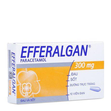 Thuốc giảm đau hạ sốt Efferalgan (300mg)- Xuất xứ Pháp 1