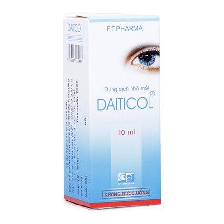 Dung dịch nhỏ mắt Daiticol dung tích 10ml 1