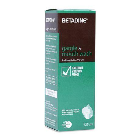 Thuốc súc họng và súc miệng Betadine (125ml) 1