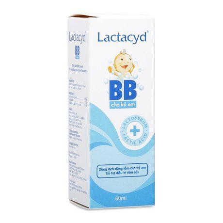 Dung dịch tắm cho trẻ em hỗ trợ điều trị rôm sảy Lactacyd BB 1
