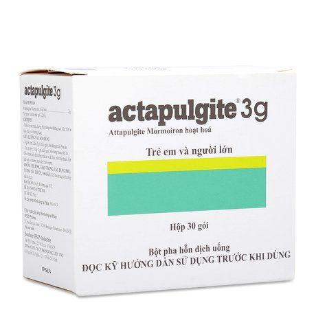 Thuốc Actapulgite Sac điều trị rối loạn tiêu hóa, đường ruột như tiêu chảy, chướng bụng
