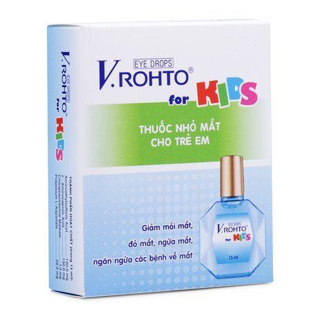 Thuốc nhỏ mắt Vrohto For Kid- Ngăn ngừa bệnh về mắt cho bé 1
