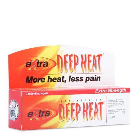 Kem điều trị các chứng đau do bệnh thấp khớp Extra Deep Heat 1