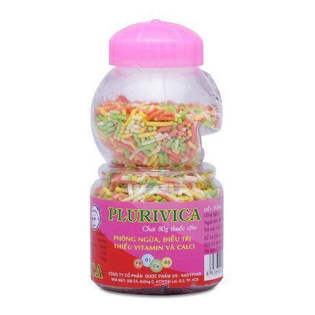 Thuốc cốm phòng ngừa,điều trị thiếu Vitami & Calci Plurivica 1