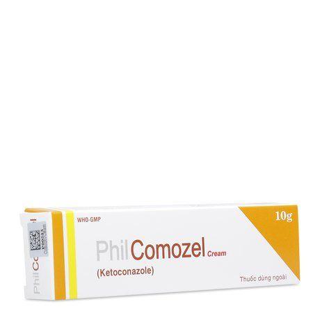 Kem trị nấm chân, nấm bẹn, nấm bàn chân Philcomozel Cream 1
