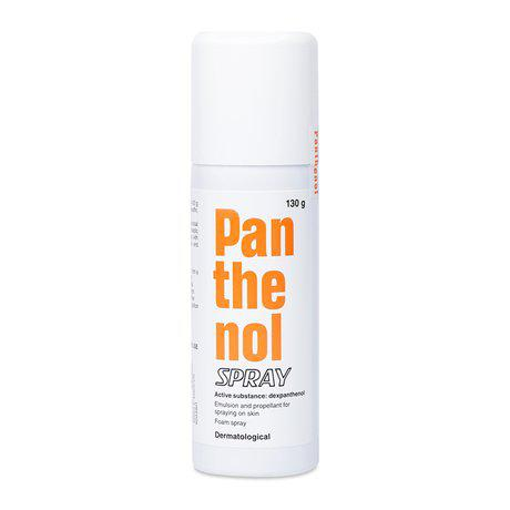 Thuốc xịt hỗ trợ điều trị vết thương ngoài da Panthenol Spay 1