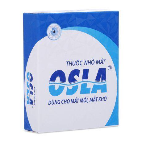 Thuốc nhỏ mắt Osla 15ml - Dùng cho ngứa, cộm, đỏ mắt, mờ mắt