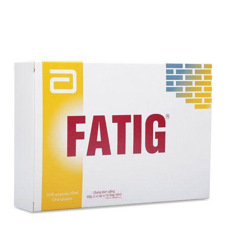 Thuốc điều trị suy nhược chức năng Fatig 10ml- Xuất xứ Mỹ 1