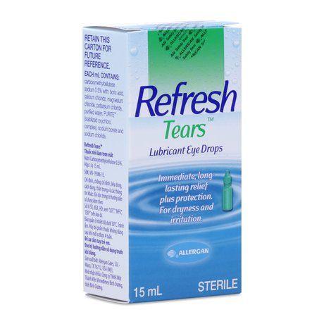 Thuốc nhỏ mắt làm trơn mắt Refresh Tears (15ml) 1