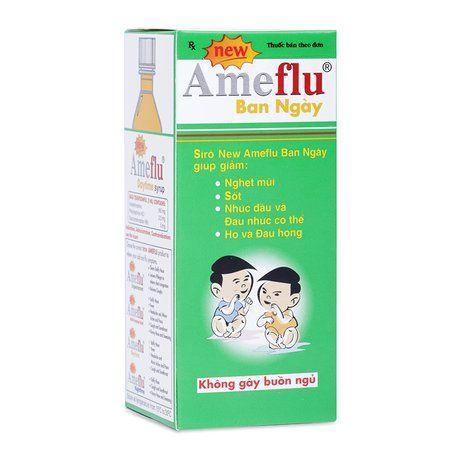 Siro trị cảm lạnh, cảm cúm thông thường Ameflu Daytime(60ml) 1