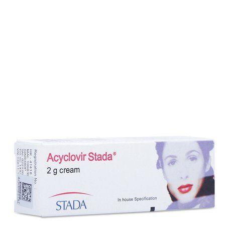Kem điều trị virus Herpes Acyclorir Stada (2g)- Xuất xứ Đức 1