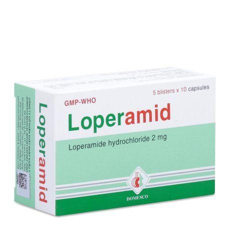 Loperamid trị tiêu chảy cấp không có biến chứng ở người lớn 1