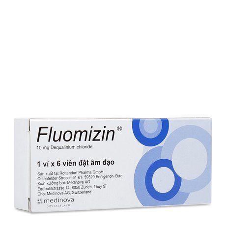 Viên đặt âm đạo chuyên trị nhiễm nấm Fluomizin 100mg 1