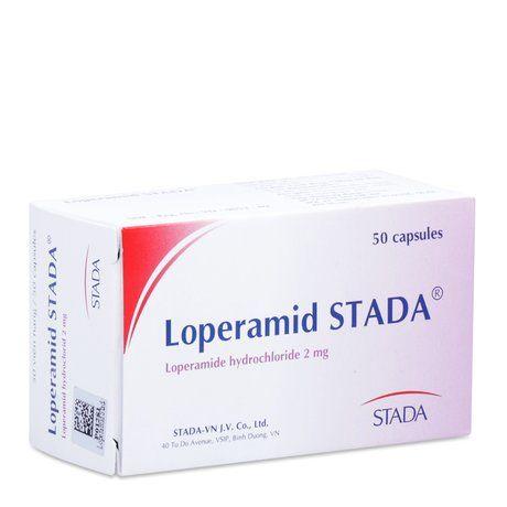 Thuốc điều trị tiêu chảy cấp và mãn tính Loperamid Stada 1