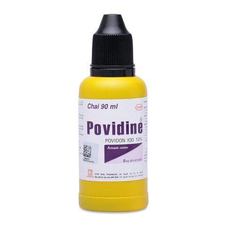 Dung dịch sát khuẩn Povidine Povidon IOD 10% (90ml) 1