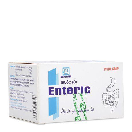 Thuốc bột hỗ trợ trị viêm ruột cấp tính và mãn tính Enteric 1