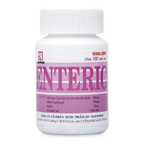 Thuốc hỗ trợ điều trị viêm ruột cấp và mãn tính Enteric 1