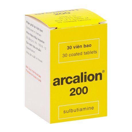 Thuốc hỗ trợ điều trị mệt mỏi Arcalion 200mg (30 viên/hộp) 1