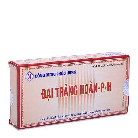Thuốc điều trị viêm đại tràng mãn tính đại tràng hoàn P/h 1