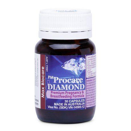 Pm Procare Diamond-Bổ sung dd cho phụ nữ có thai, cho con bú 1
