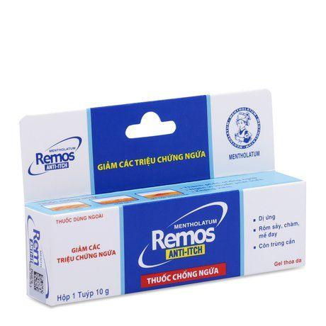 Gel giảm triệu chứng ngứa Remos Anti- Itch (10g) 1