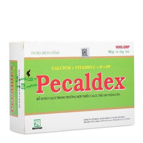 Dung dịch trị thiếu Vitamin,Calcium và trẻ chậm lớn Pecaldex 1