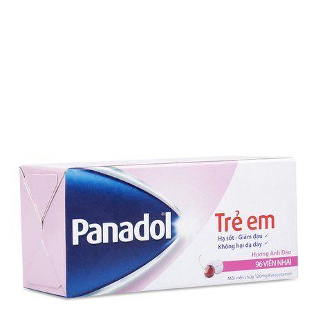Thuốc Panadol For Children 120mg- Hạ sốt giảm đau 1