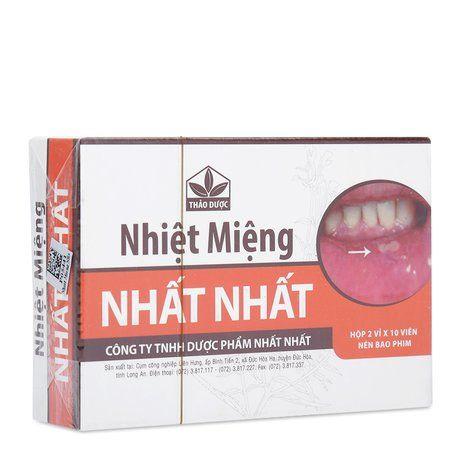 Thuốc thảo dược Nhất Nhất  giải độc, chống viêm,nhiệt miệng 1