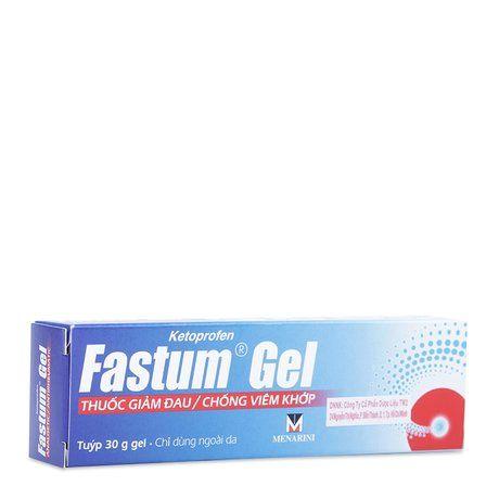 Thuốc giảm đau và chống viêm khớp Fastum Gel (30g) 1