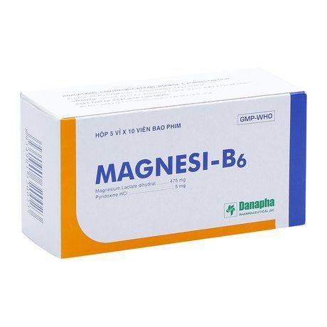 Thuốc điều trị thiếu hụt Magnesi và tạng co giật Magnesi- B6 1