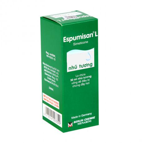 Thuốc điều trị đầy hơi,nặng tức vùng thượng vị Espumisan LQD 1