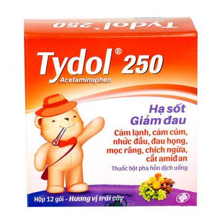 Thuốc giảm đau hạ sốt Tydol 150mg (12 gói/hộp) 1