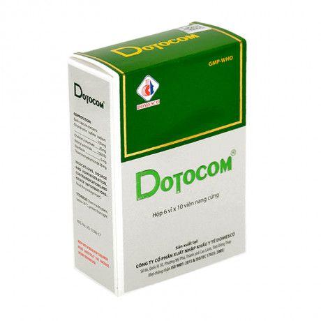Thuốc điều trị nhức mỏi mắt, viêm giác mạc Dotocom 100mg 1