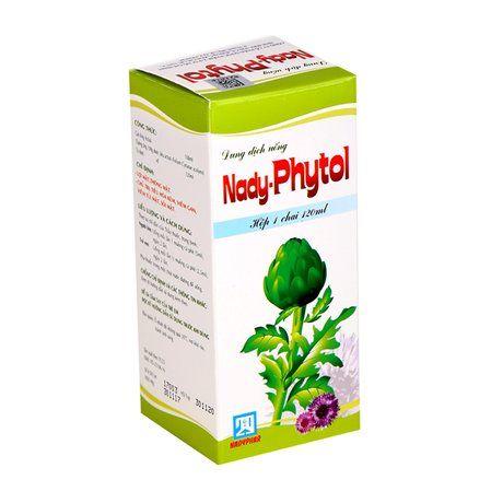 Dung dịch Nady- Phytol trị tiêu hóa kém, viêm gan, sỏi mật 1