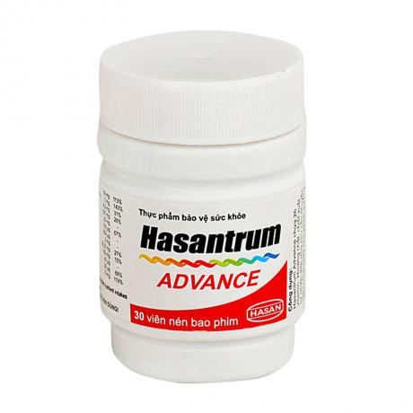 Thuốc bổ sung Vitamin và khoáng chất Hasantrum Advance 1